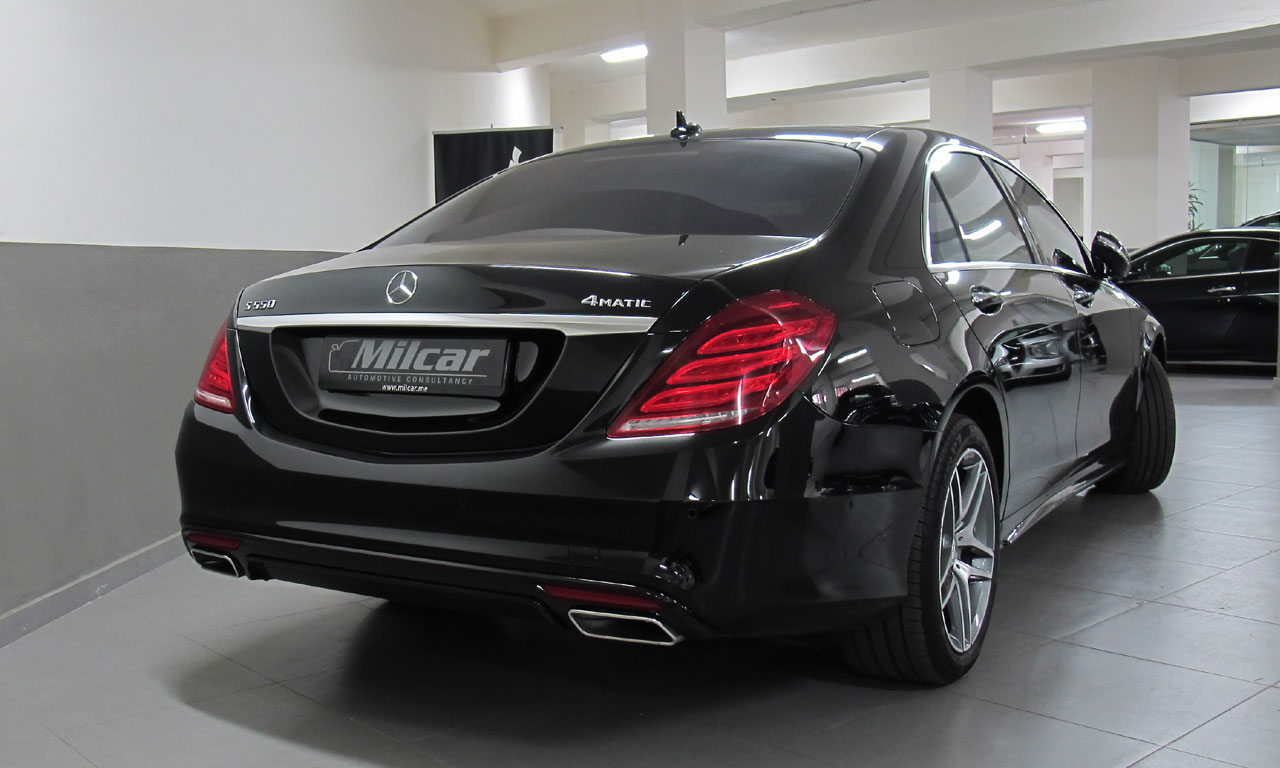 Milcar automotive consultancy mercedes benz s550 l for Mercedes benz s550 4matic 2014