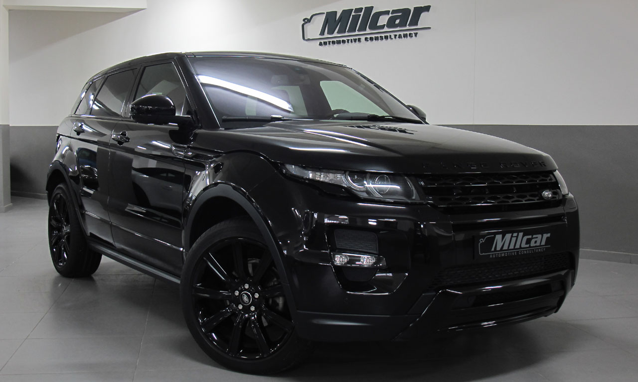 milcar automotive consultancy range rover evoque dynamic 2015. Black Bedroom Furniture Sets. Home Design Ideas