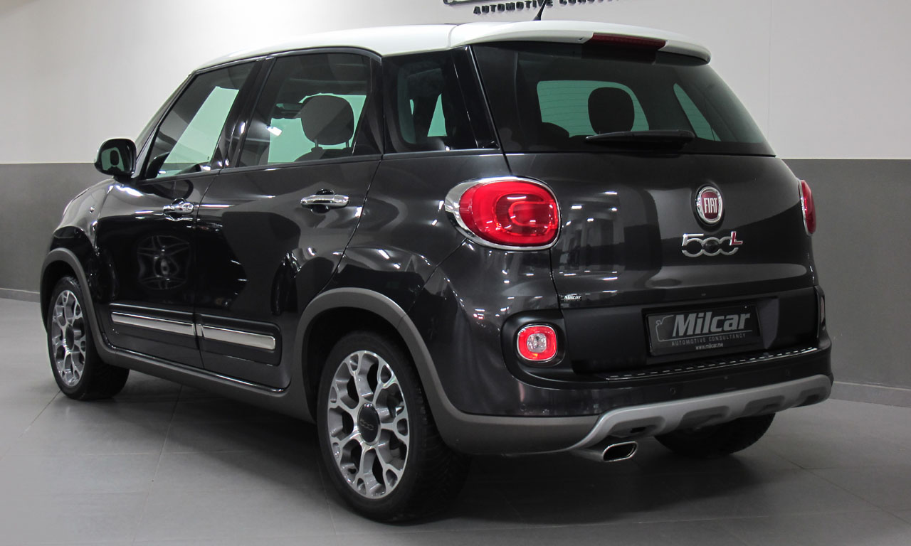 Milcar Automotive Consultancy 187 Fiat 500 L Trekking 2016