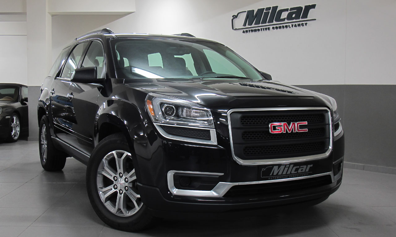 milcar automotive consultancy gmc acadia 2016. Black Bedroom Furniture Sets. Home Design Ideas