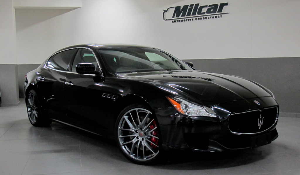 Milcar Automotive Consultancy 187 Maserati Quattroporte