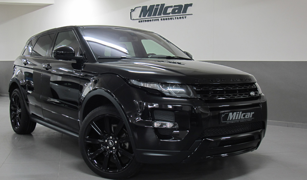 Milcar Automotive Consultancy 187 Range Rover Evoque