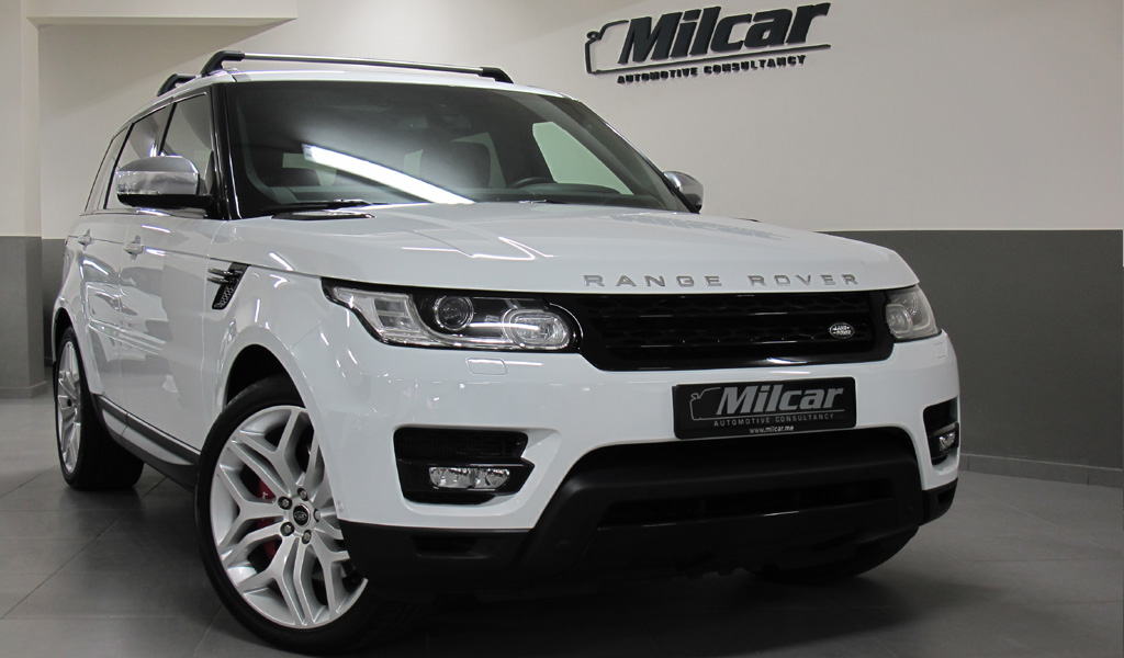 milcar automotive consultancy range rover sport v8 supercharged autobiography 2016. Black Bedroom Furniture Sets. Home Design Ideas