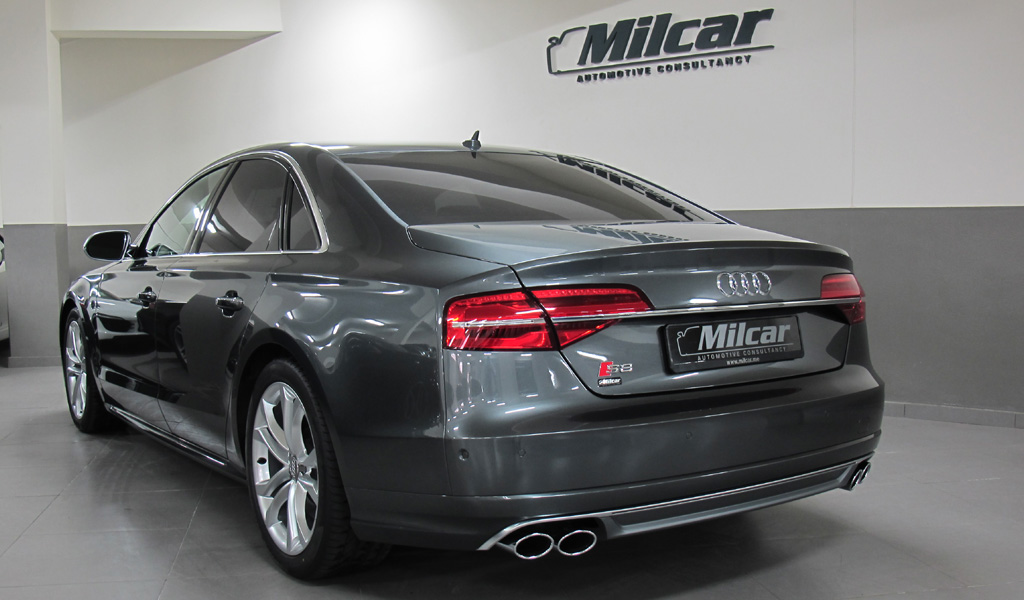 Milcar Automotive Consultancy 187 Audi S8 V8 2016