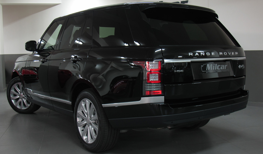 milcar automotive consultancy range rover vogue hse 2016. Black Bedroom Furniture Sets. Home Design Ideas