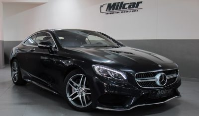 MERCEDES BENZ S500 COUPE 4MATIC 2015