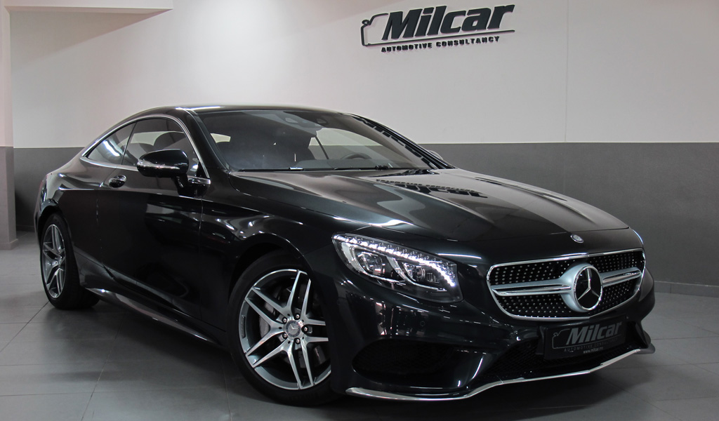 milcar automotive consultancy mercedes benz s500 coupe 4matic 2015. Black Bedroom Furniture Sets. Home Design Ideas
