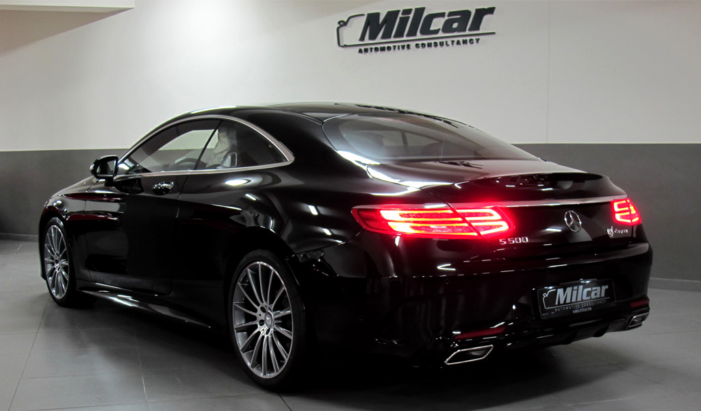 Milcar automotive consultancy mercedes benz s500 for Mercedes benz s500 coupe