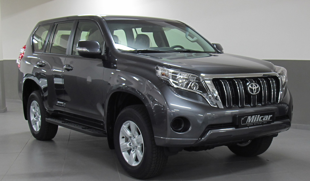 Milcar Automotive Consultancy 187 Toyota Prado Tx L 2016