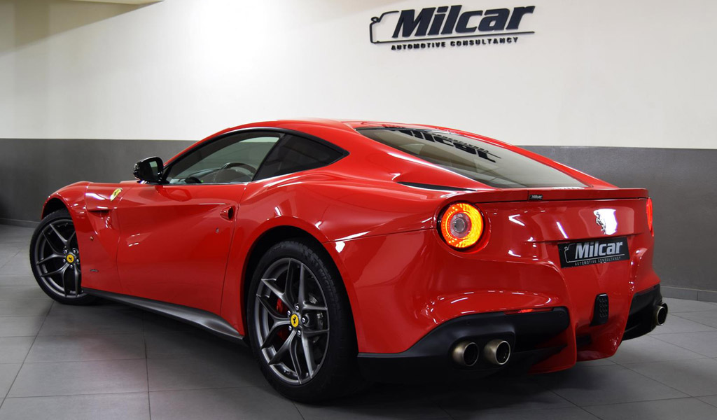 milcar automotive consultancy ferrari f12 berlinetta 2013. Black Bedroom Furniture Sets. Home Design Ideas