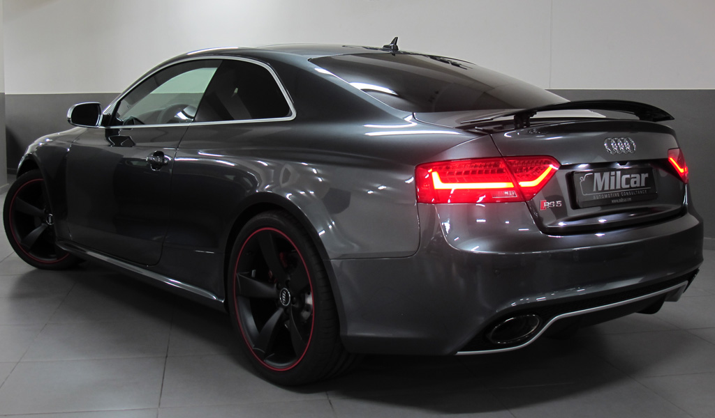milcar automotive consultancy audi rs5 coupe 2016