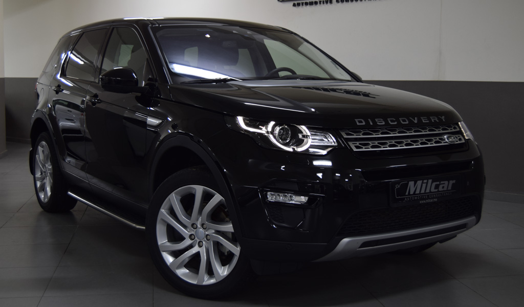 MILCAR ::: Automotive Consultancy » LAND ROVER DISCOVERY SPORT HSE 2018