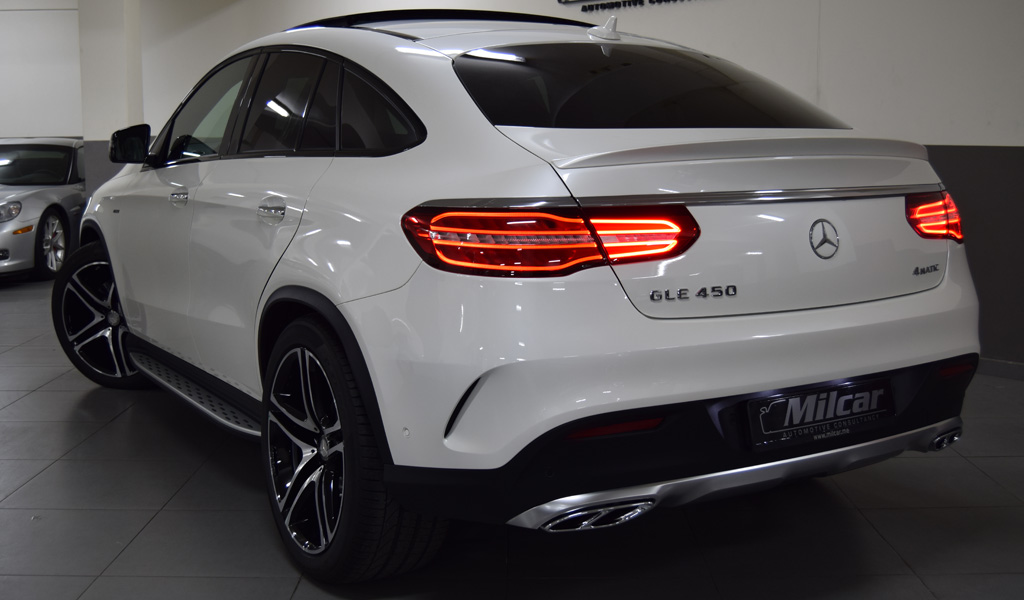 Mercedes Benz Gle 450 Coupe