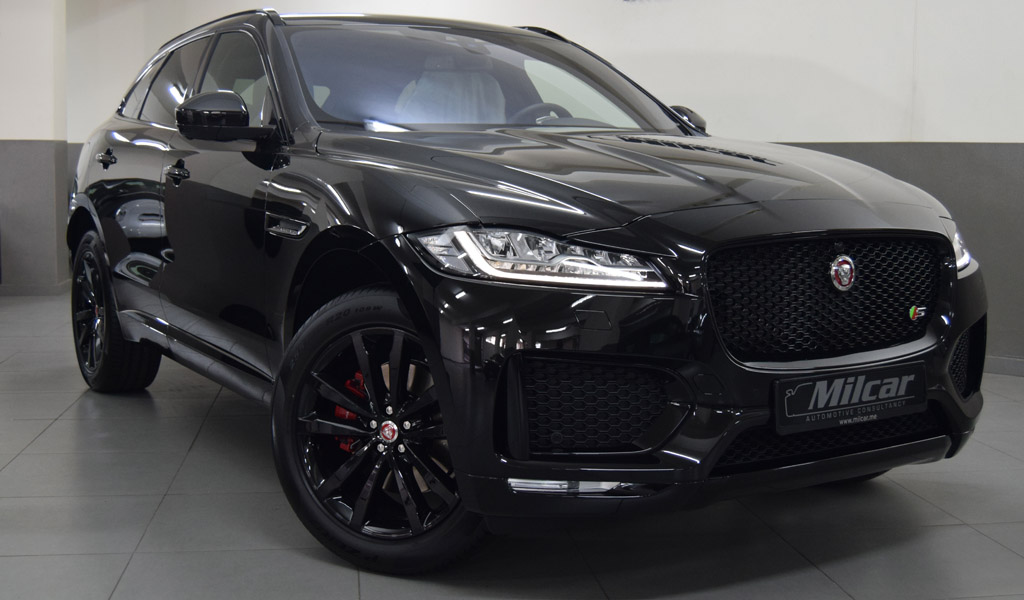 Milcar Automotive Consultancy 187 Jaguar F Pace S 2017