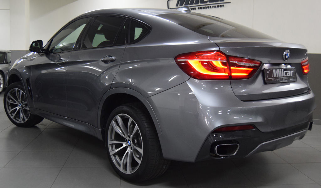 Milcar Automotive Consultancy 187 Bmw X6 35i M Sport 2016