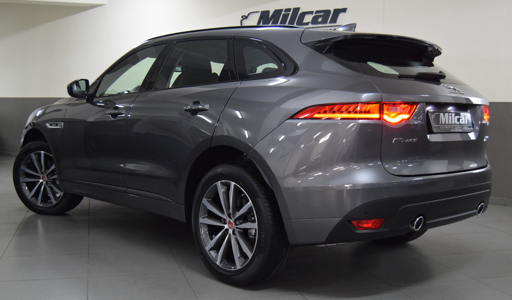 2017 Jaguar F Pace Prestige >> Milcar Automotive Consultancy Jaguar F Pace 4 Cylinders 2018