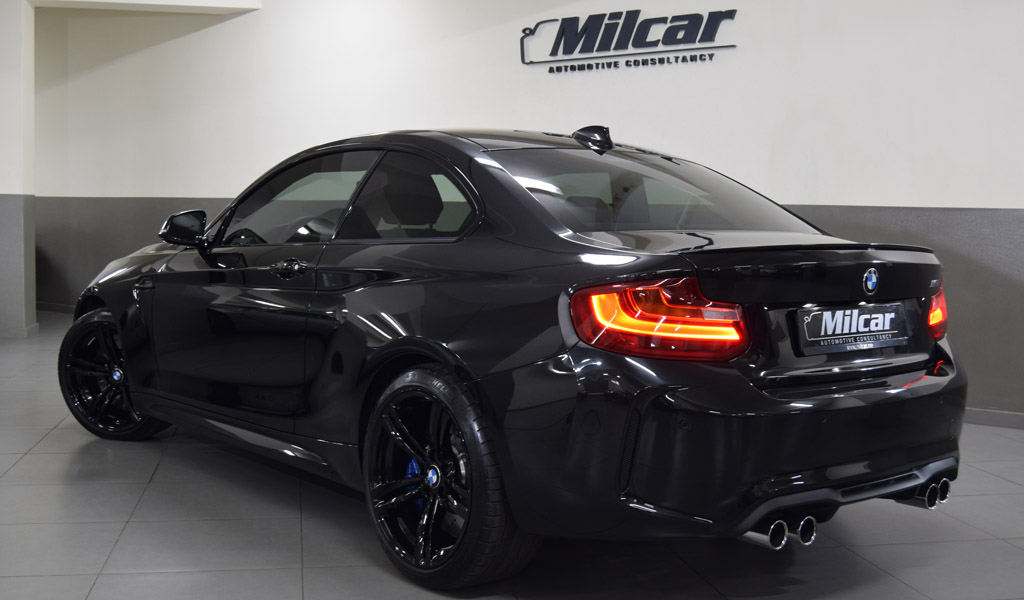 milcar automotive consultancy bmw m2 2017. Black Bedroom Furniture Sets. Home Design Ideas