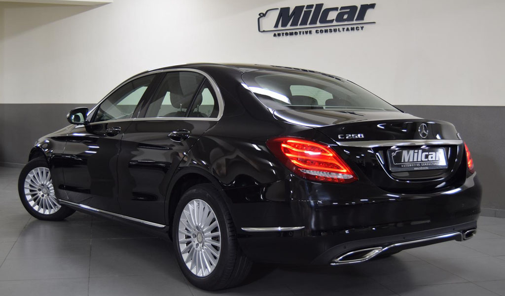 Milcar automotive consultancy mercedes benz c250 for Mercedes benz c250 2015