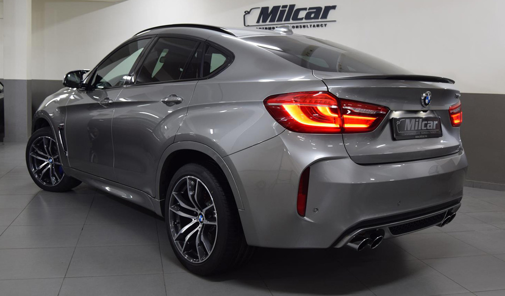 Milcar Automotive Consultancy 187 Bmw X6 M 2017