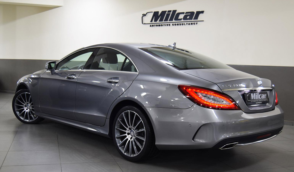 Milcar automotive consultancy mercedes benz cls 400 for Mercedes benz cls 500 amg