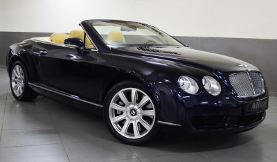 2009 Bentley Continental GTC.