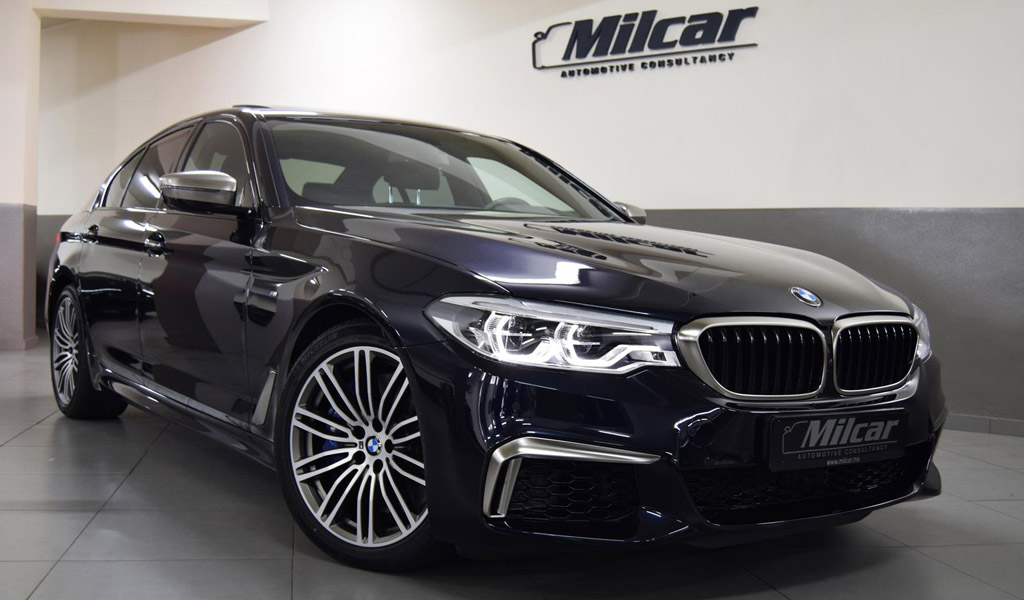 Bmw550i 2017 >> Milcar Automotive Consultancy Bmw 550i X Drive 2018