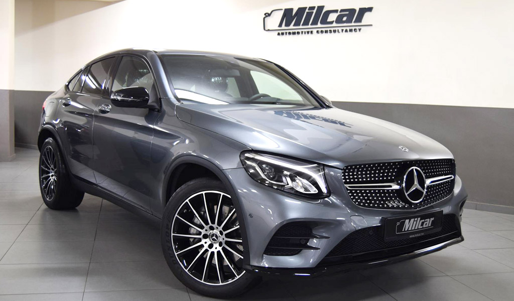 Milcar automotive consultancy mercedes benz glc 300 for Mercedes benz glc 300 coupe