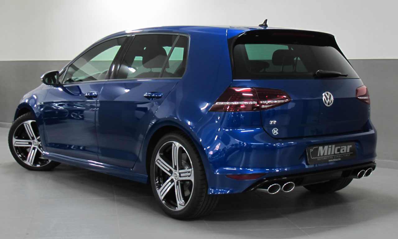 Pre Owned Cars >> MILCAR ::: Automotive Consultancy » VW GOLF 7 R 2017