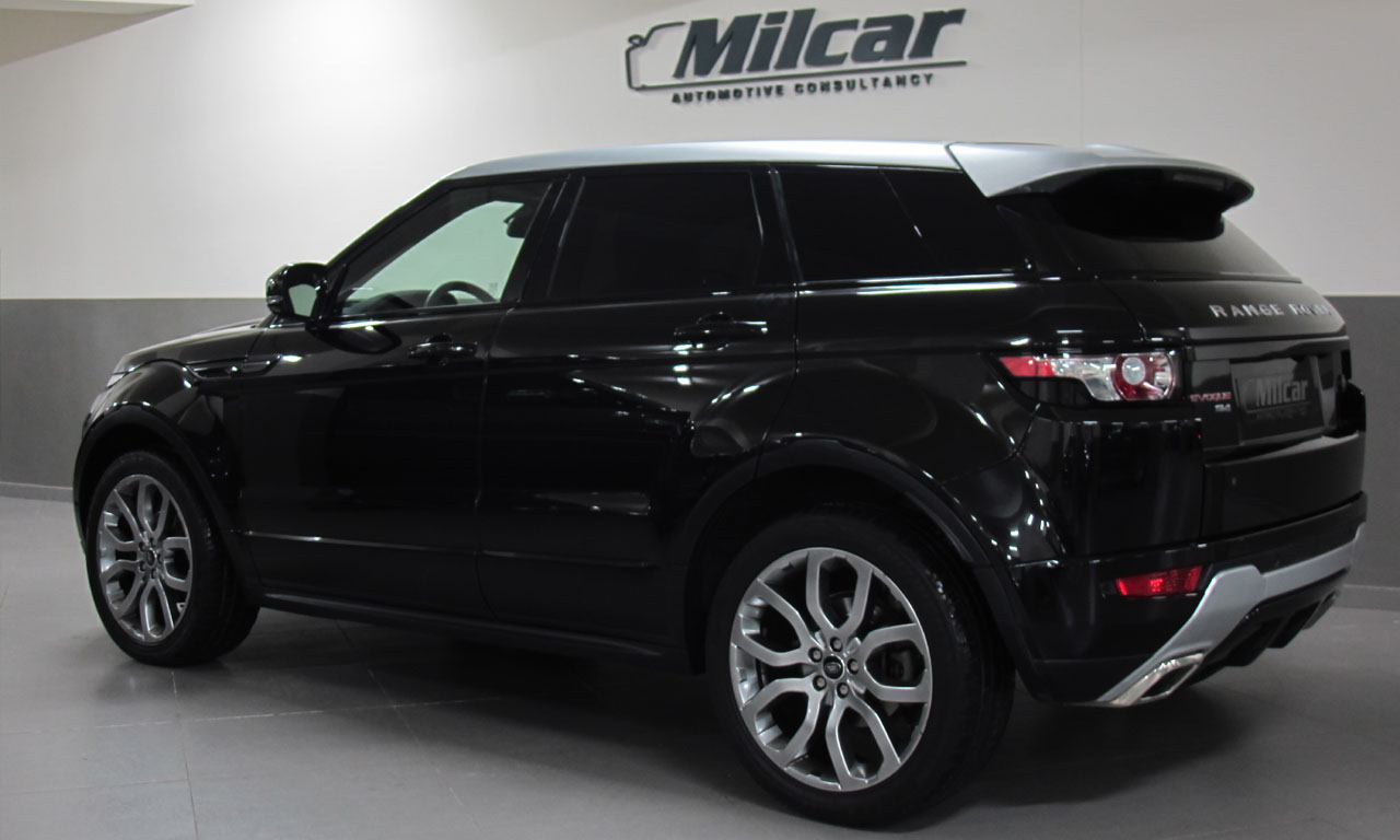 milcar automotive consultancy range rover evoque dynamic 2013. Black Bedroom Furniture Sets. Home Design Ideas
