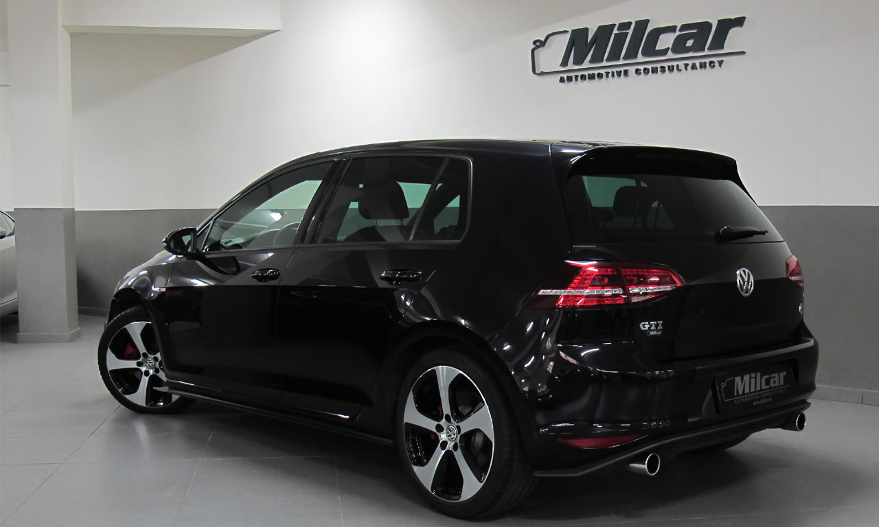 milcar automotive consultancy vw golf 7 gti 2016. Black Bedroom Furniture Sets. Home Design Ideas