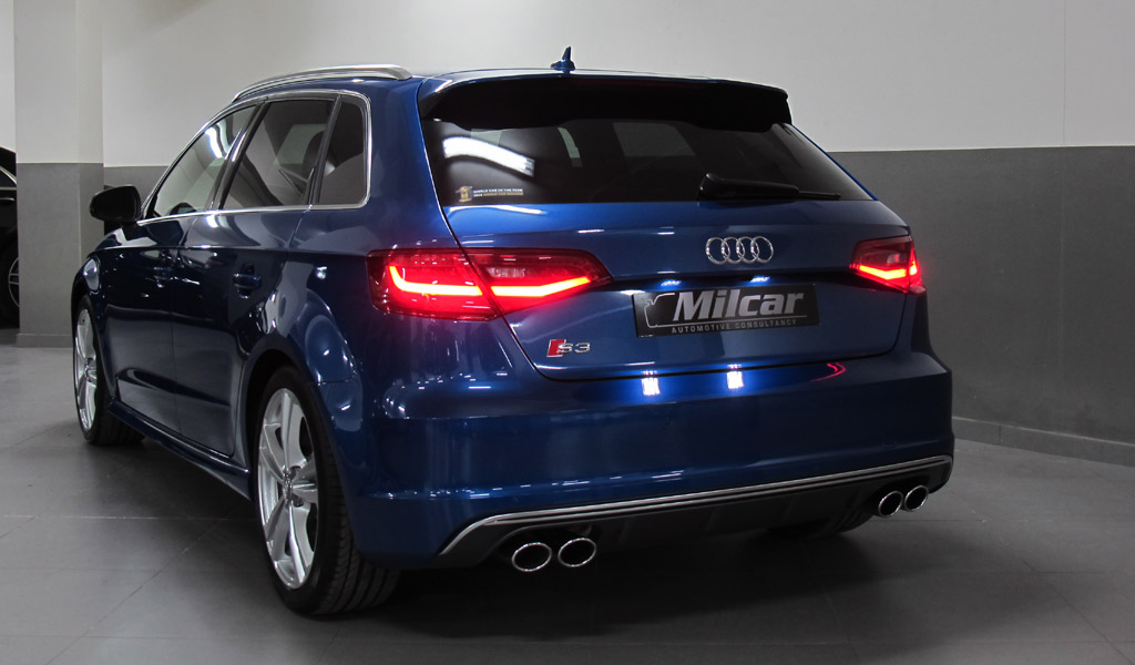 Milcar Automotive Consultancy 187 Audi S3 Sportback 2016