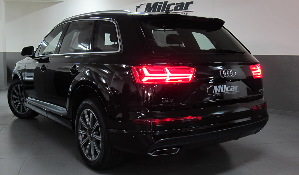 Milcar Automotive Consultancy Audi Q7 V6 2018