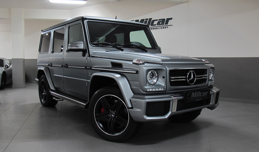 Milcar automotive consultancy mercedes benz g63 amg 2016 for Mercedes benz g63 amg suv