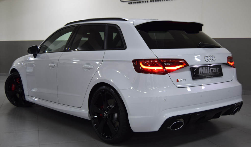 Milcar Automotive Consultancy 187 Audi Rs3 Sportback 2016