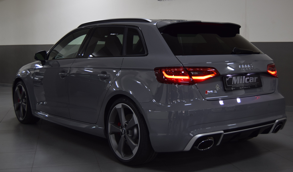 Audi V8 2015 >> MILCAR ::: Automotive Consultancy » AUDI RS3 SPORTBACK 2016