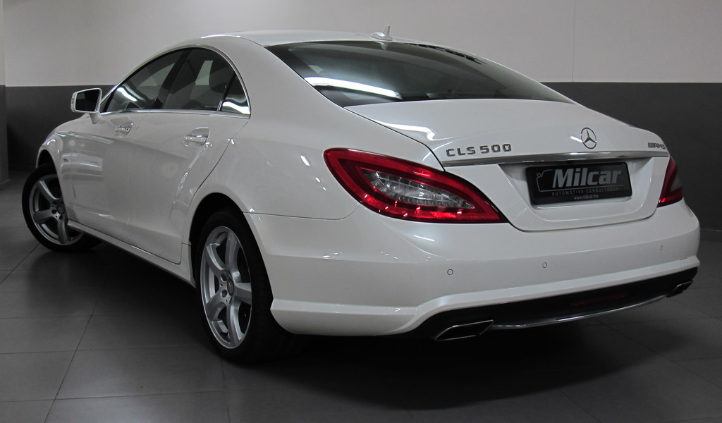 milcar automotive consultancy mercedes benz cls 500 amg 2012. Black Bedroom Furniture Sets. Home Design Ideas