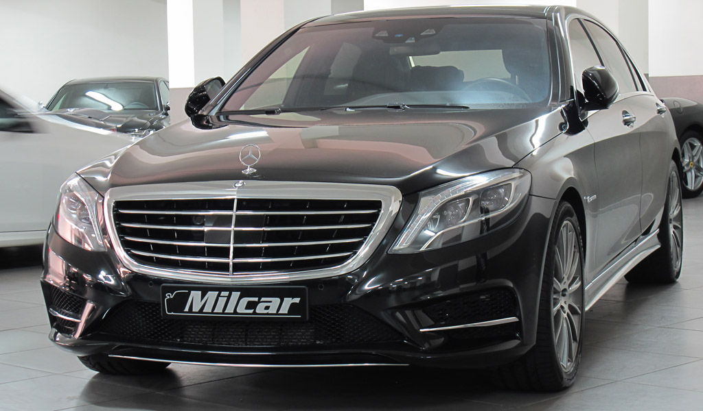 Mercedes Benz S500 L 4matic