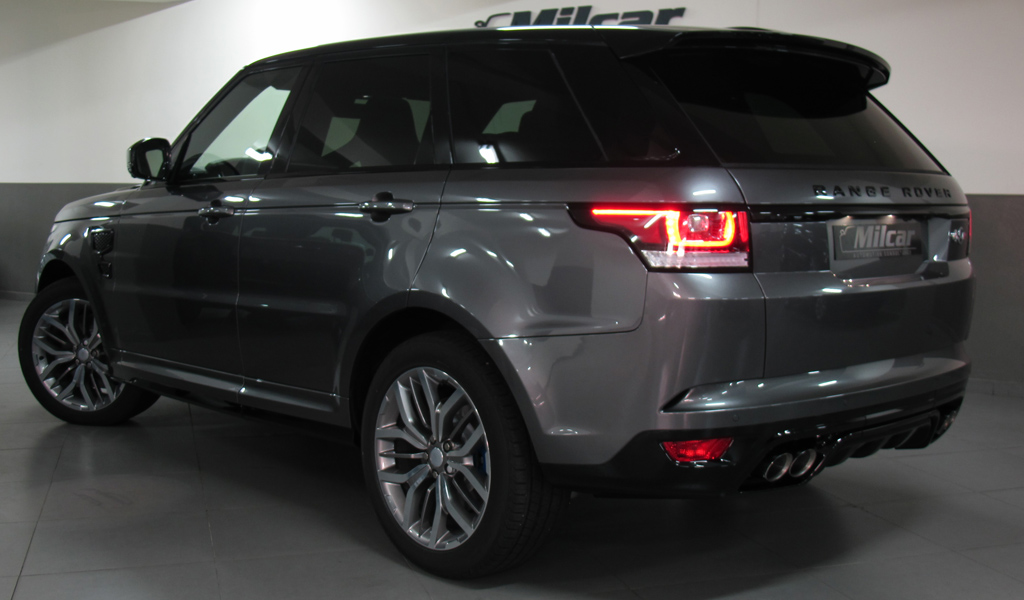 MILCAR ::: Automotive Consultancy » RANGE ROVER SPORT SVR 2017