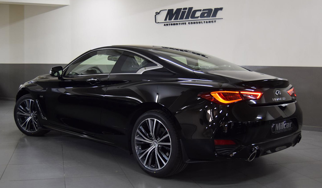 Milcar Automotive Consultancy 187 Infiniti Q60 2018