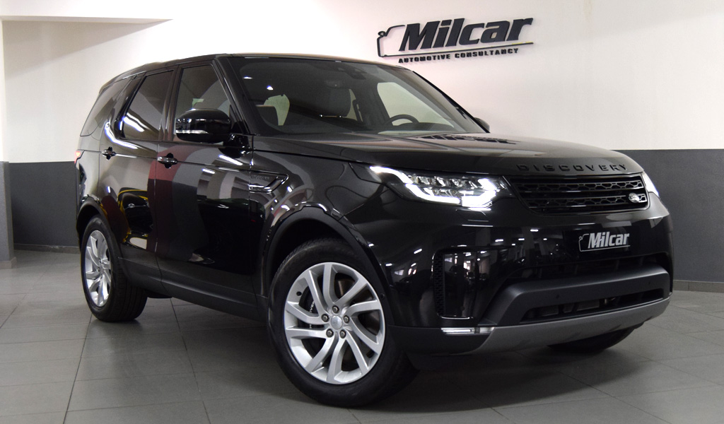 Milcar Automotive Consultancy 187 L R Discovery Hse Black Pack 2020